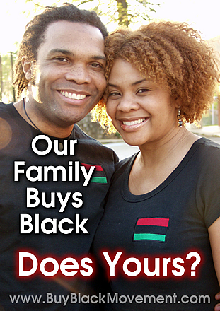 Our Family Buys Black. Does Yours?
