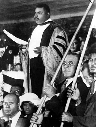 Convention Address by Honorable Marcus Garvey