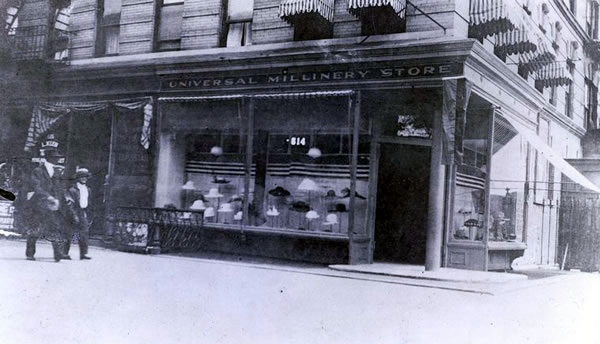 One of Marcus Garvey's Stores In New York City
