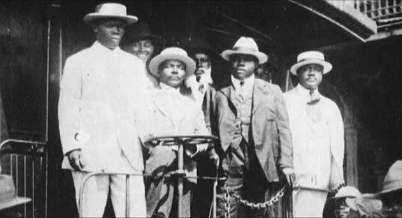 Marcus Garvey Parade In Harlem, 1924