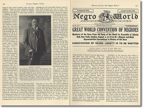Negro World Newspaper